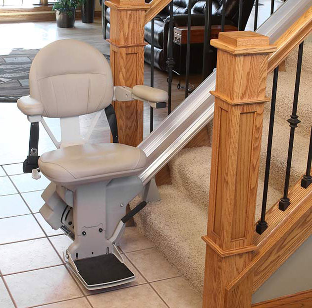 Placentia stairchair liftchair staircase curved indoor outdoor stair lift